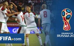 """هذا ما قاله موقع """"الفيفا""""عن المنتخب المغربي وحظوظه في مونديال…"""