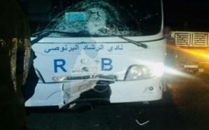 """مقال/فيديو: حافلة """"الرشاد البرنوصي"""" تتعرض لحادث مميت"""