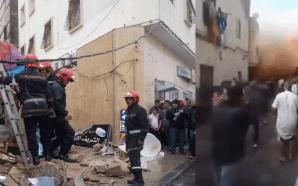 فيديو وصور: انهيار عدد من المنازل في المدينة القديمة بالبيضاء…
