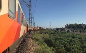 حادث قطار بين طنجة والقنيطرة يخلف صدمة بين الركاب