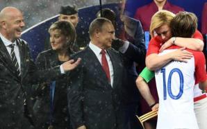 فيديو وصورة: دموع رئيسة كرواتيا وأمطار التتويج تشد أنظار المتابعين