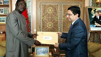 Photo of بوريطة يستقبل وزير الشؤون الخارجية الغامبي حاملا رسالة إلى الملك من الرئيس أداما بارو