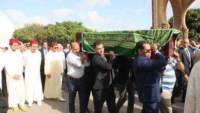 Photo of الأمير مولاي رشيد يشارك في مراسيم تشييع جثمان محمد كريم العمراني