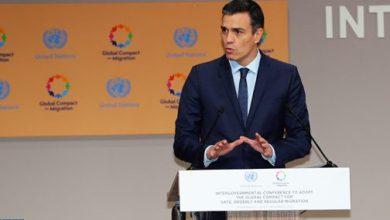 "Photo of رئيس الحكومة الإسبانية: الميثاق العالمي من أجل الهجرة "" طفرة نوعية لعلاقات دولية متعددة الأطراف فعالة """