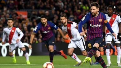 Photo of برشلونة يقلب تأخره بفوز ثمين على رايو فايكانو