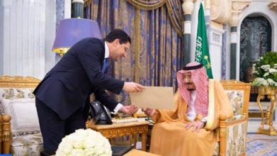 Photo of رسالة من جلالة الملك إلى خادم الحرمين الشريفين