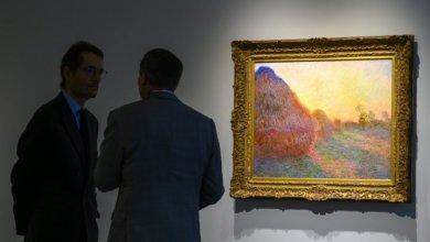 """Photo of لوحة """"كلود مونيه"""" يتجاوز سعرها 110 ملايين دولار في مزاد في نيويورك"""