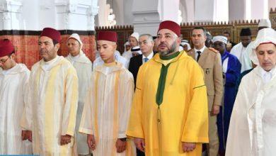 Photo of أمير المؤمنين يؤدي غدا الأربعاء صلاة عيد الفطر المبارك بمسجد أهل فاس بالمشور السعيد بالرباط