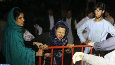 Photo of مقتل 68 شخصا وإصابة أزيد من 180 آخرين في هجوم استهدف حفل زفاف في أفغانستان