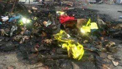 "Photo of معطيات حول حريق مهول شب بسوق""الجوطية"" بجرادة"