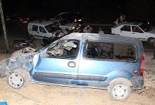Photo of مراكش: تسجيل حادثة سير مع جنحة الفرار نجمت عن اصطدام سيارة بواجهة مطعم