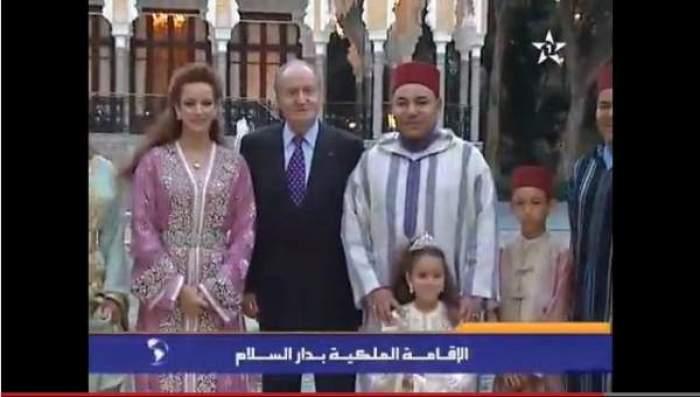 Photo of فيديو: الملك محمد السادس يقيم مأدبة إفطار عائلي على شرف العاهل الإسباني