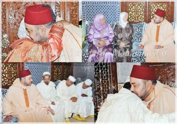 Photo of الملك محمد السادس يستقبل عائلات ضحايا المجرم دنيال كالفان