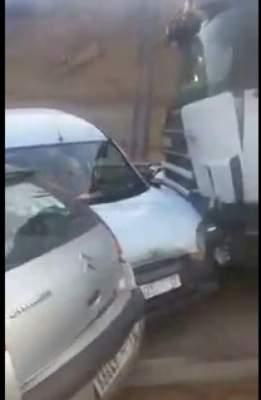 Photo of فيديو حصري لحادثة مروعة في الطريق السيار سلا الجديدة
