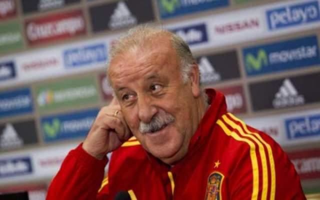 """Photo of ديل بوسكي :"""" صوتي لأفضل لاعب في العالم لـ تشافي هيرنانديز وإنيستا ولاعب آخر !! """"."""