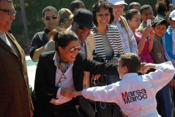 Photo of النسخة 30 من دوري الحسن الثاني لكرة المضرب تحتفل بأول يوم عالمي للرياضة