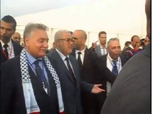 Photo of فيديو هكذا خرج بن كيران أمين عام البيجيدي مع الرفيق بنعبد الله