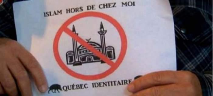 Photo of ملصقات معادية للإسلام بثلاثة مساجد بكندا