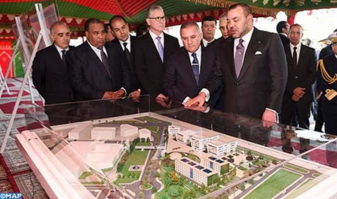 Photo of جلالة الملك يضع الحجر الأساس لإنجاز جامعة محمد السادس لعلوم الصحة بالدار البيضاء