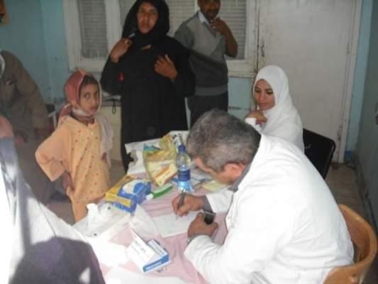 Photo of ساكنة أولاد مبارك الحنشة بإقليم القنيطرة يستفيدون من قافلة طبية