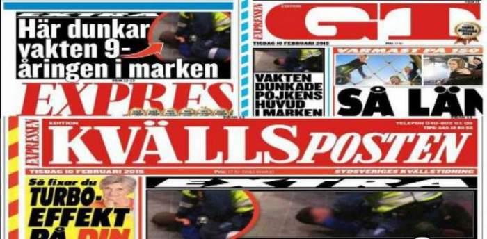 Photo of الصحف السويدية تهتم بالاعتداء على طفل مغربي من طرف حارس أمن