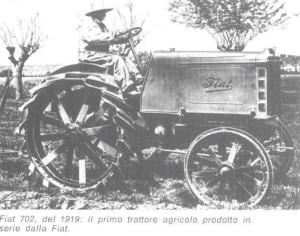 trattore e la sua storia
