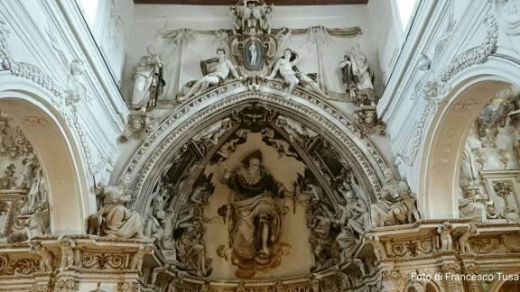 Tribuna Maggiore Chiesa Madre di Ciminna
