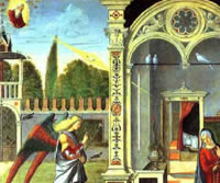 Vittore Carpaccio's Annunciation