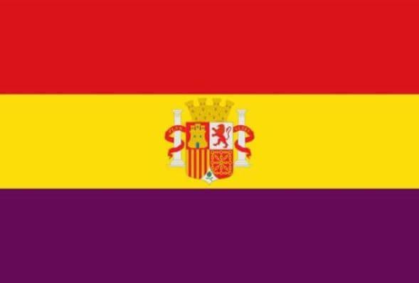 bandera española republicana