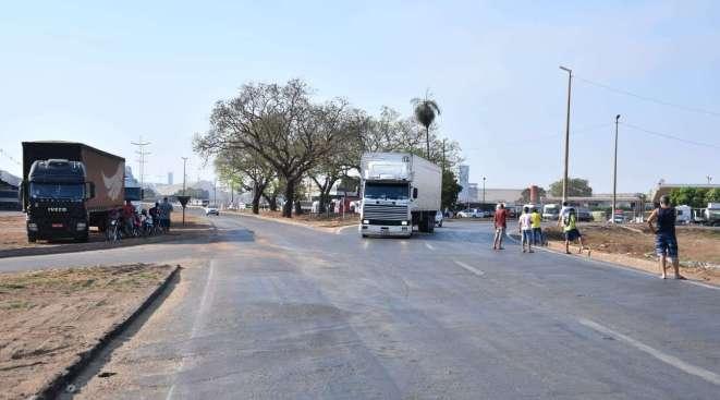 Imagem: protesto bols roo rodovia trevao PRF diz que tráfego segue normal nas rodovias federais da região