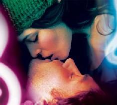 bacio romantico