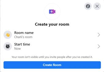 create a room screenshot