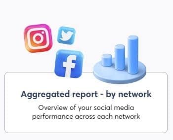 aggregated report by network