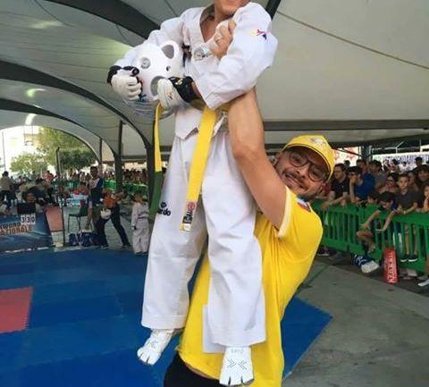 "Borgo Hermada. Oro per Piroli del taekwondo ""Fenice"""