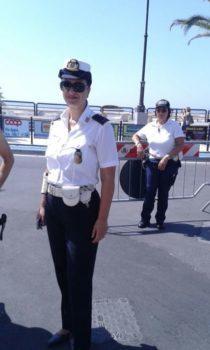 Terracina. Alessandra, Vigile e motociclista della prima ora