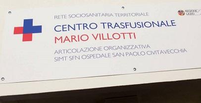 Regione Lazio. Nuovo centro trasfusioniale al San Paolo di Civitavecchia