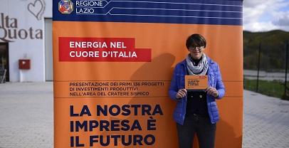 """Regioen Lazio. Bando per le pimprese nel """"cratere sismico"""". I vincitori"""