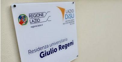 Università: nuovo studentato intitolato a Regeni