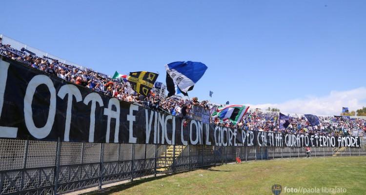 Calcio. Latina contro Cassino: per i tafferugli cinque daspo