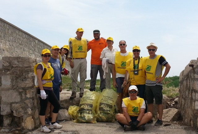 Terracina. Successo del Beach Litter e fondali puliti 2018