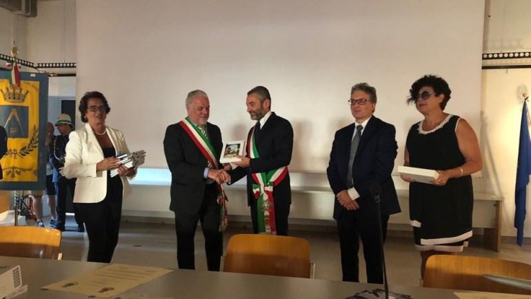 Cori-Sesto Calende: si è svolta nel Comune lombardo la cerimonia conclusiva del Patto di Gemellaggio