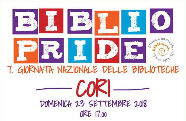 Il Bibliopride 2018 a Cori