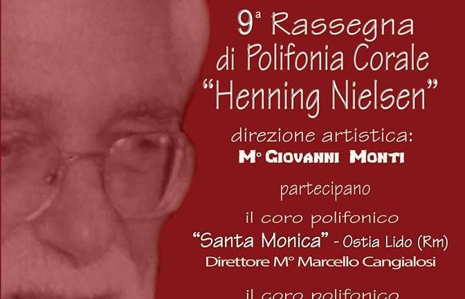 9^ Rassegna 'Henning Nielsen'. Torna a Cori l'appuntamento con la polifonia corale