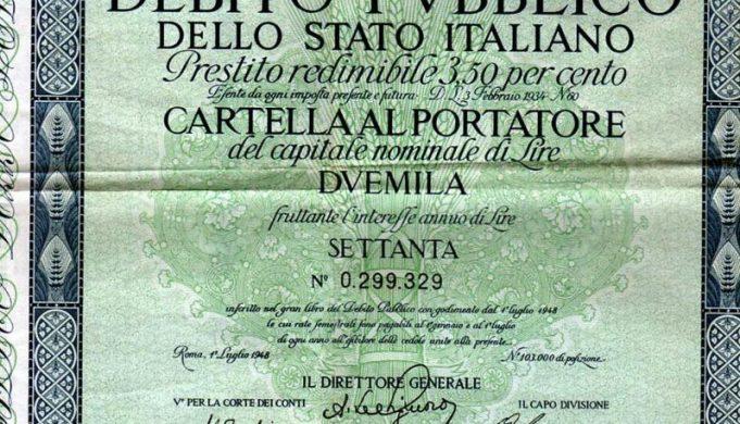 Latina.Trova un buono del tesoro che oggi 100mila euro, ma lo Stato non intende pagare