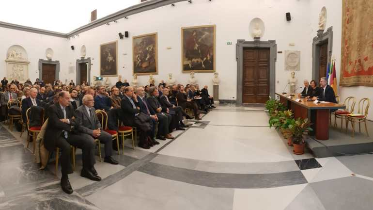 Battesimo istituzionale per l'AEPI in Campidoglio a Roma