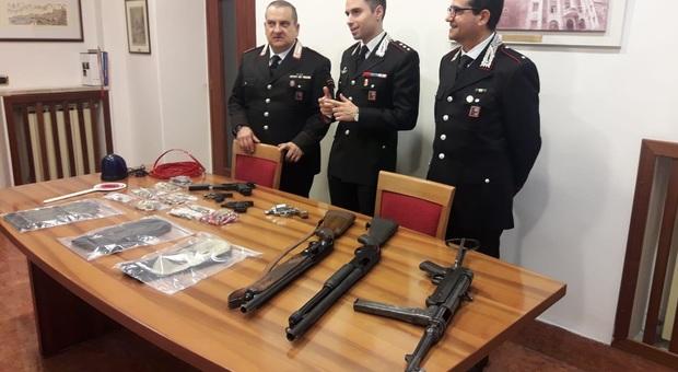 Terracina. Nelle vicinanze del Fiorini ritrovato borsone con armi
