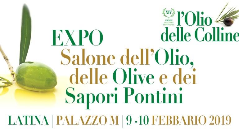 EXPO: Salone dell'Olio, delle Olive e dei Sapori Pontini. Il 9 e 10 Febbraio al Palazzo M di Latina