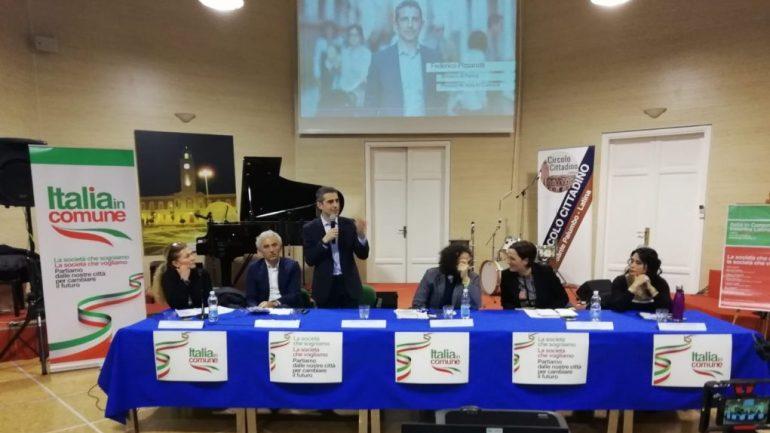 """Latina. """"Italia in comune"""", riunione al Circolo cittadino con Pizzarotti&C"""