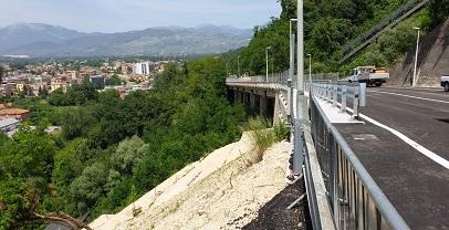 Regione Lazio. Viabilità: a Frosinone inaugurato il nuovo viadotto Biondi