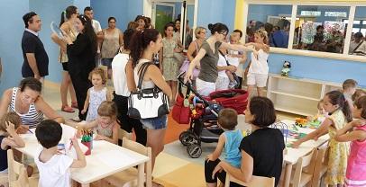 Regione Lazio, 5 nuovi asili nido per 150 bambini